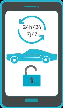 location voiture 24h/24 Salva Rousseau Automobile